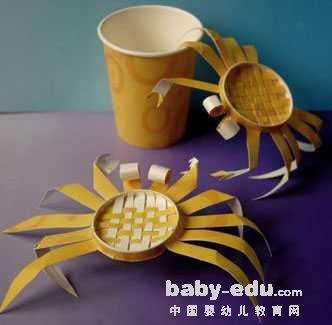 幼儿纸杯螃蟹手工制作大全