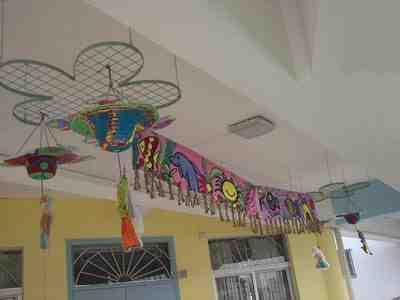 幼儿园走廊环境布置